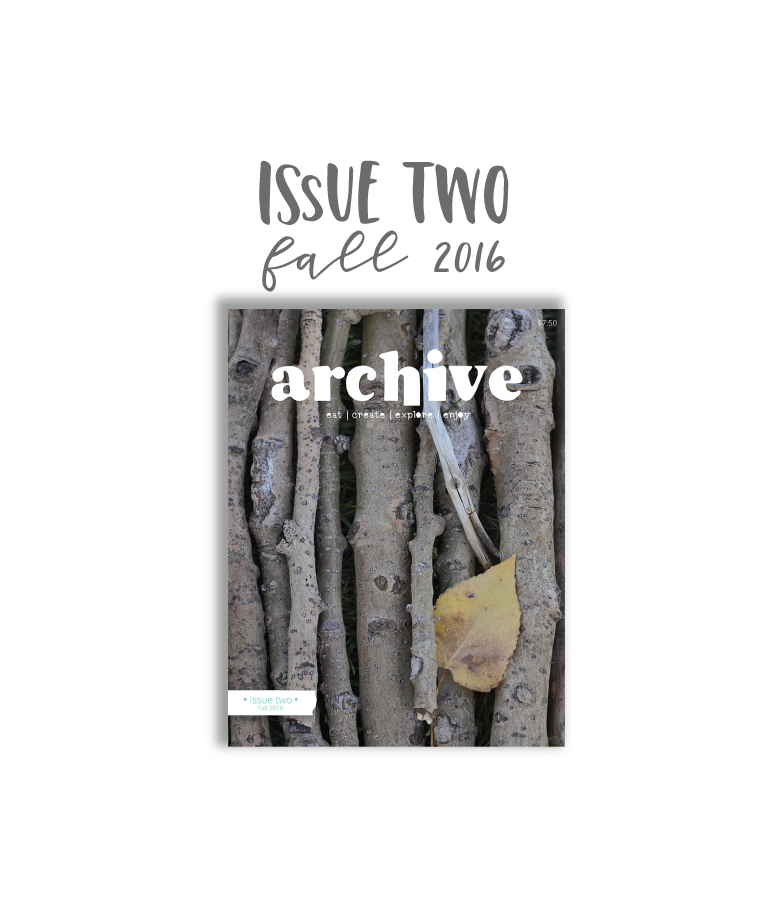 Archive Magazine - Issue 2, Fall 2016 - Canadian Address