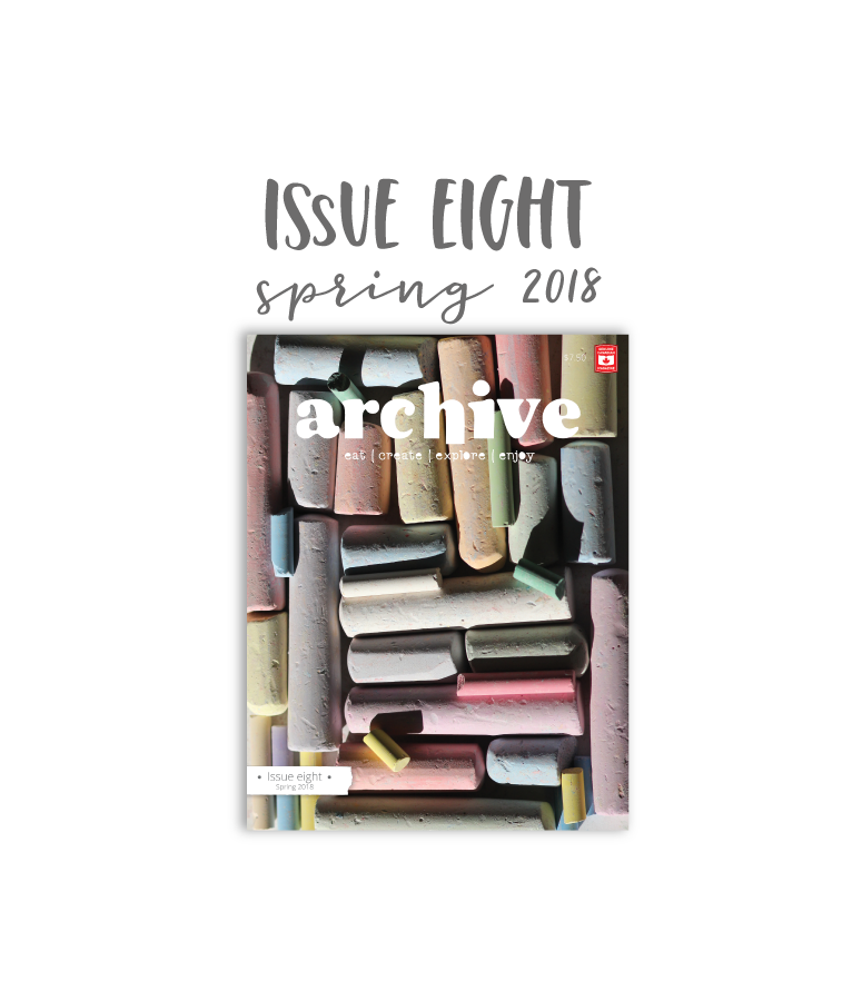 Archive Magazine - Issue 8, Spring 2018 - Canadian Address