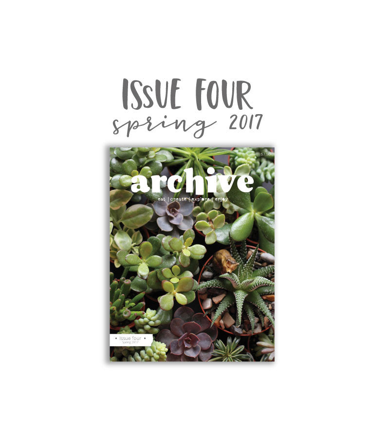 Archive Magazine - Spring 2017 issue - Canadian address