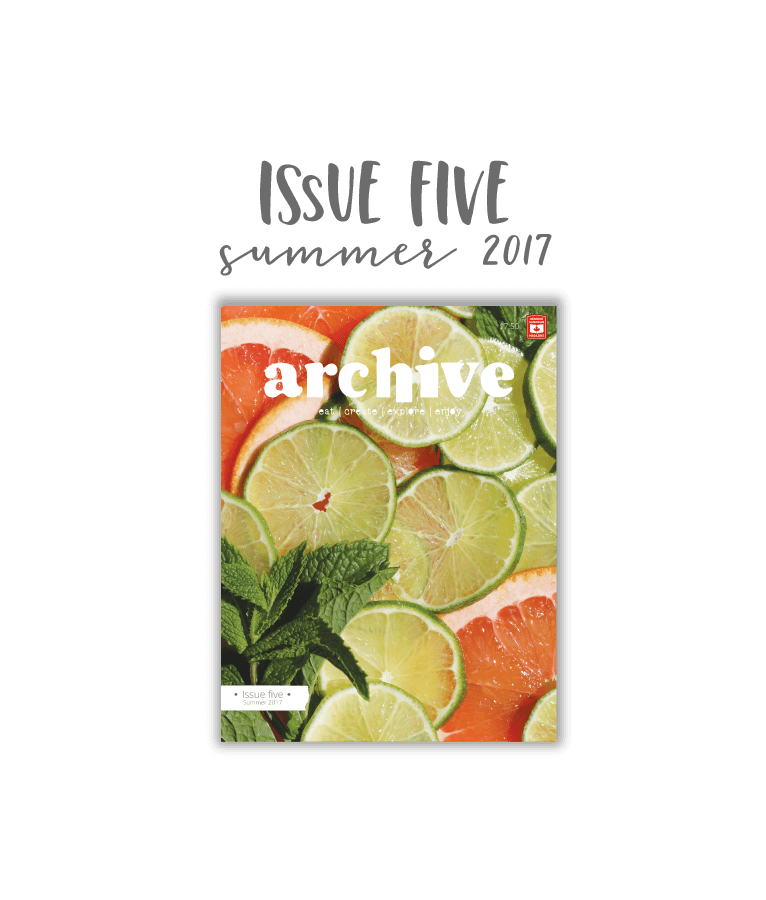 Archive Magazine - Issue 5, Summer 2017