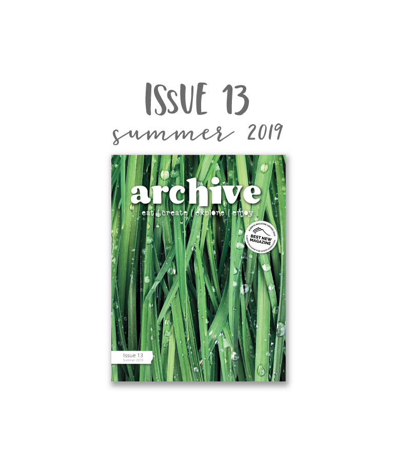 Archive Magazine - Issue 13, Summer 2019