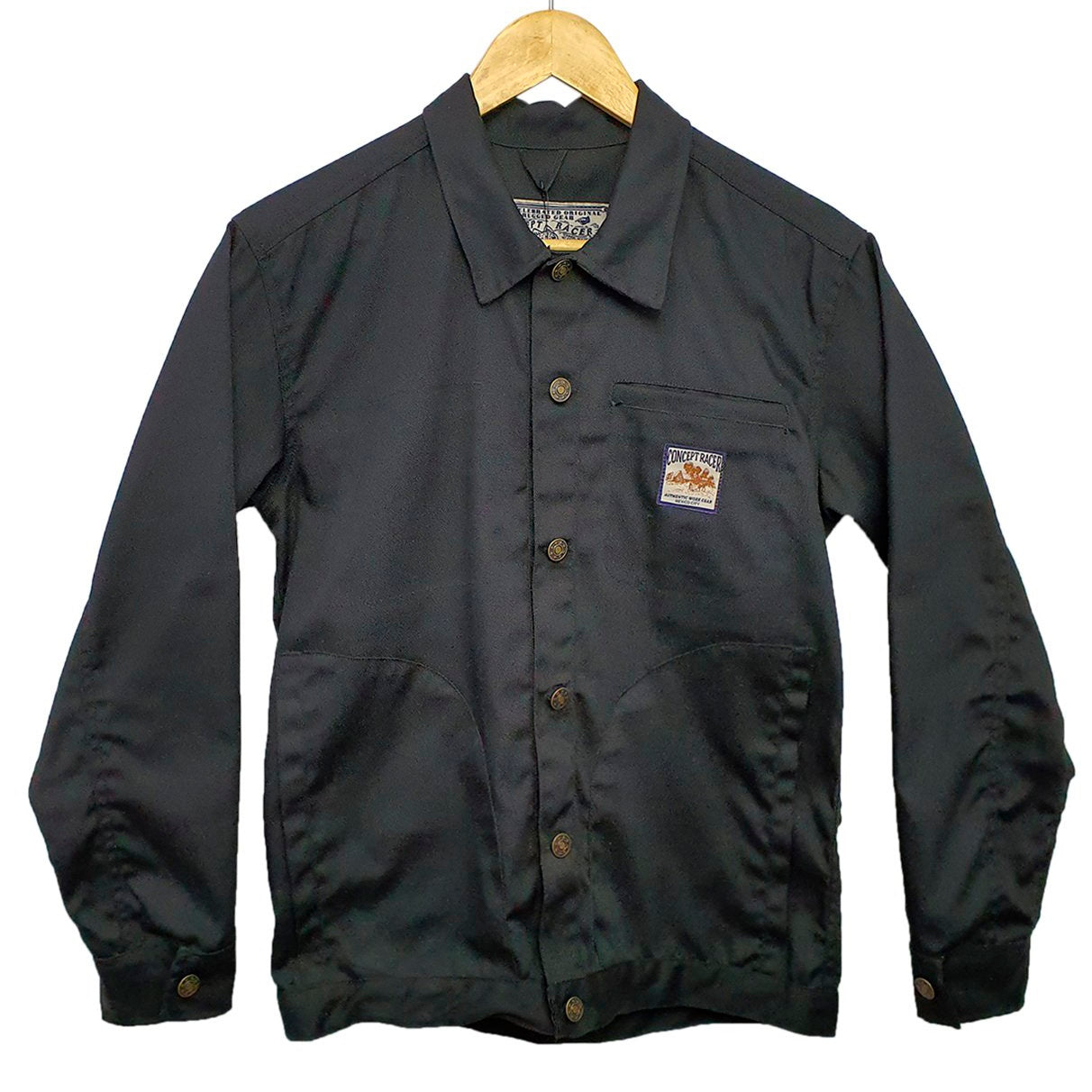 Black Work Overshirt - Concept Racer