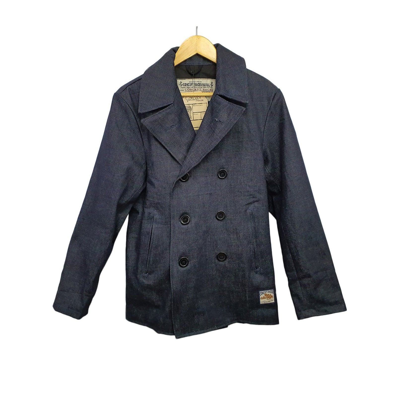 Denim Peacoat - Concept Racer
