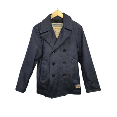 Denim Peacoat