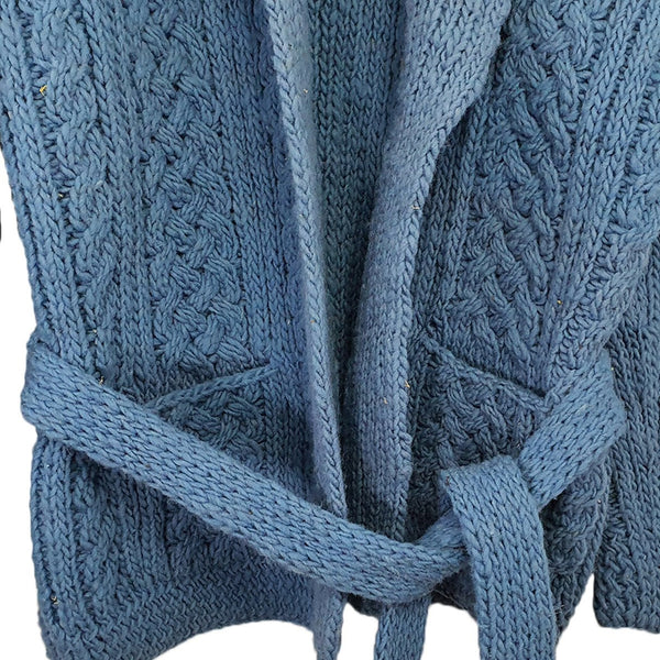 Hand Knitted Sweater Indigo - Concept Racer