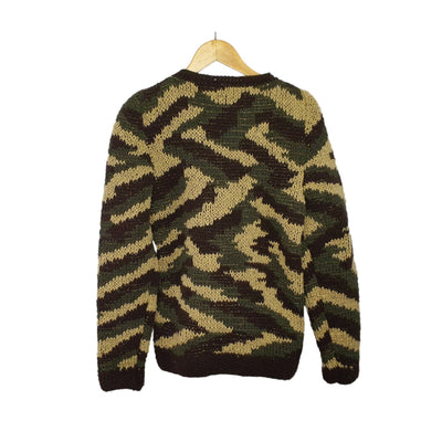 Hand Knitted Camo Sweater - Concept Racer