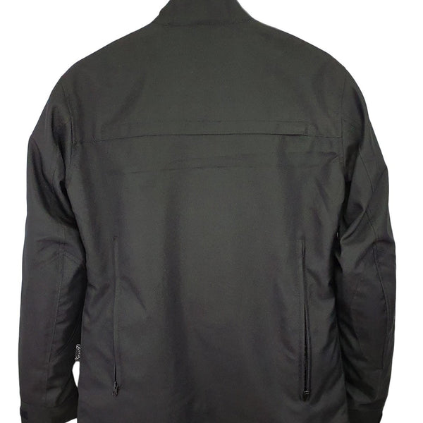 Sahara Black Motorcycle Protective Jacket - Concept Racer