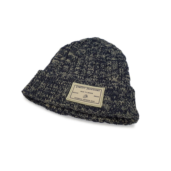 Navy/Grey Knit Beanie - Concept Racer