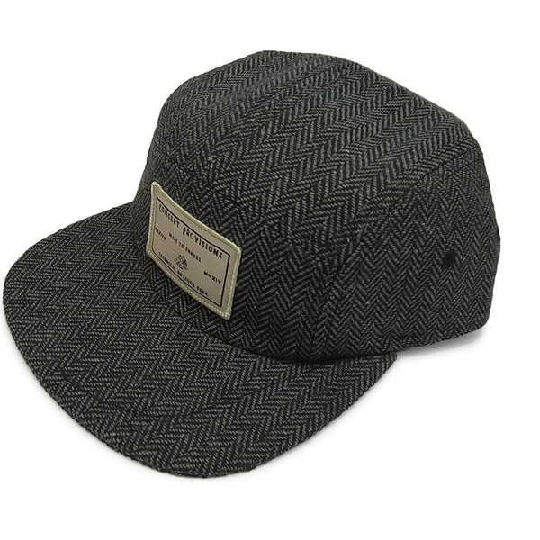 Tweed Oxford Grey Premium Hat - Concept Racer