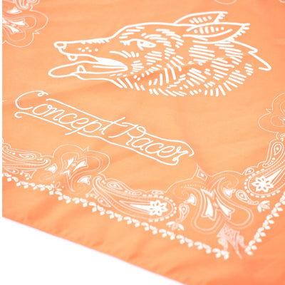 Orange Coyote Bandana - Concept Racer