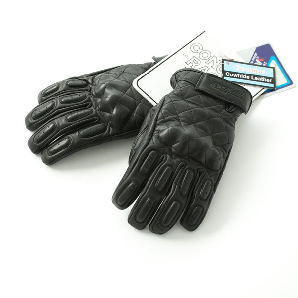 "Guantes Negros ""The King of Cool"" Gloves Black"