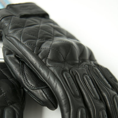 "Guantes Negros ""The King of Cool"" Gloves Black - Concept Racer"