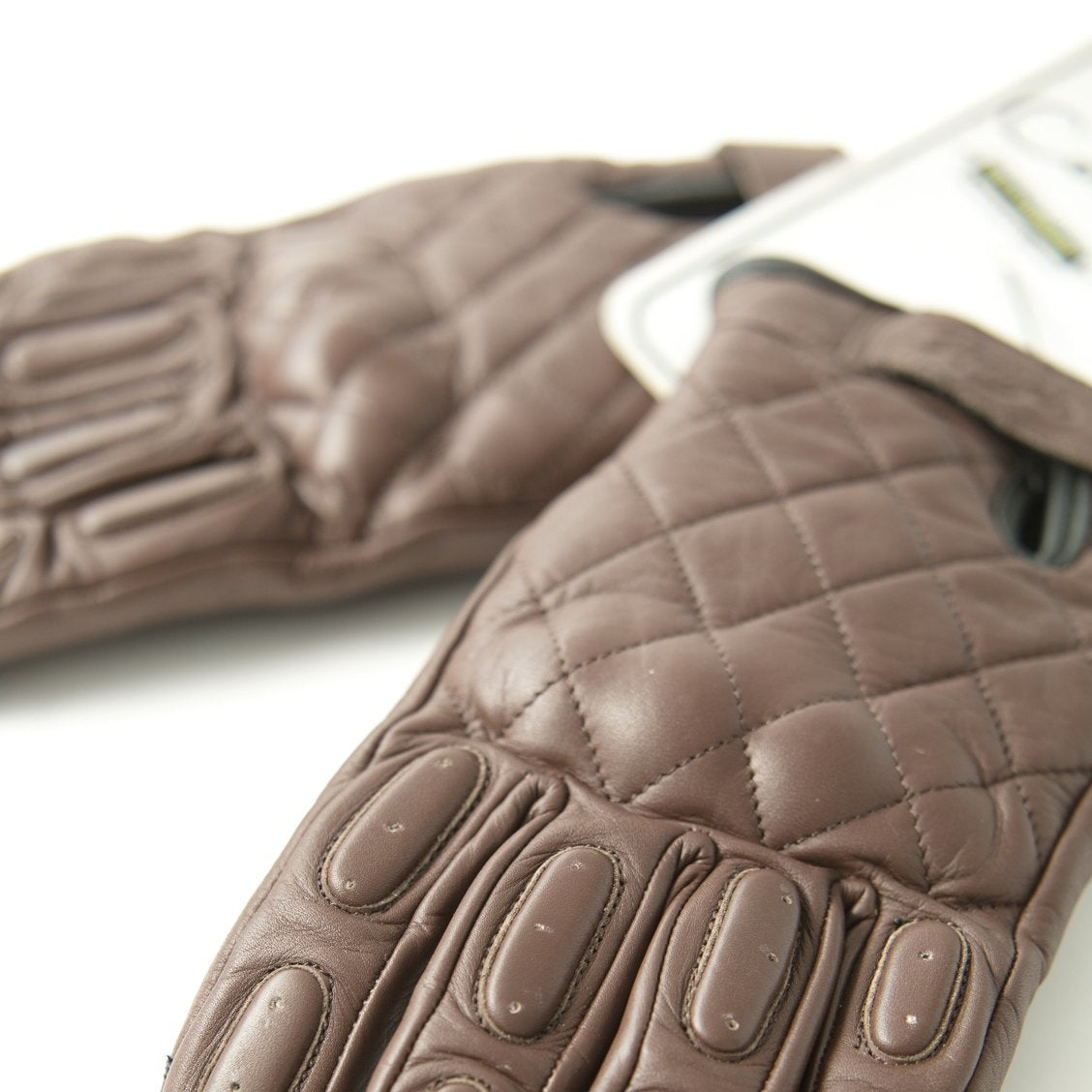 Brown Waterproof/Breathable Gloves - Concept Racer
