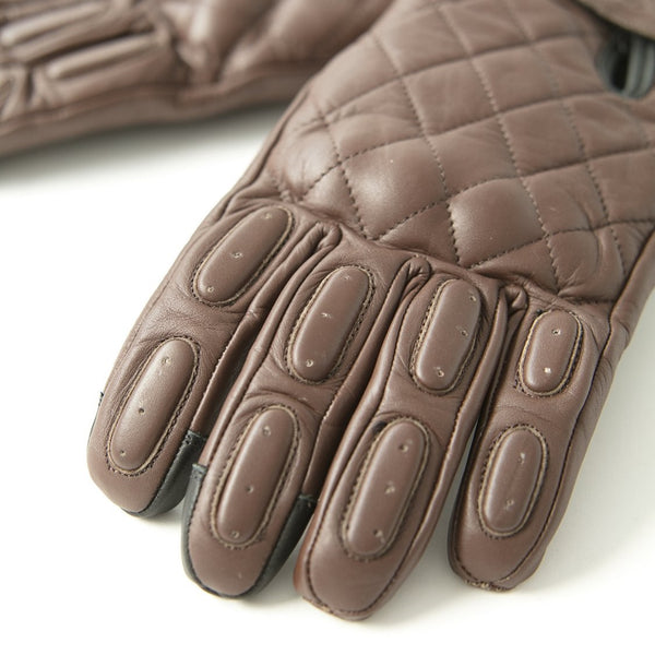 "Guantes Cafés ""The King of Cool"" Gloves Brown"