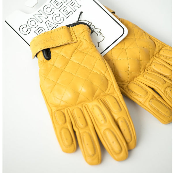 Yellow Waterproof/Breathable gloves - Concept Racer