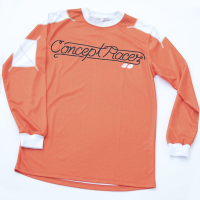 Jersey Retro Naranja / Orange - Concept Racer