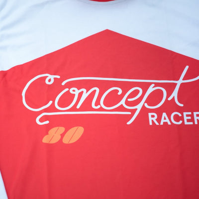 Retro Jersey Rojo / Red - Concept Racer