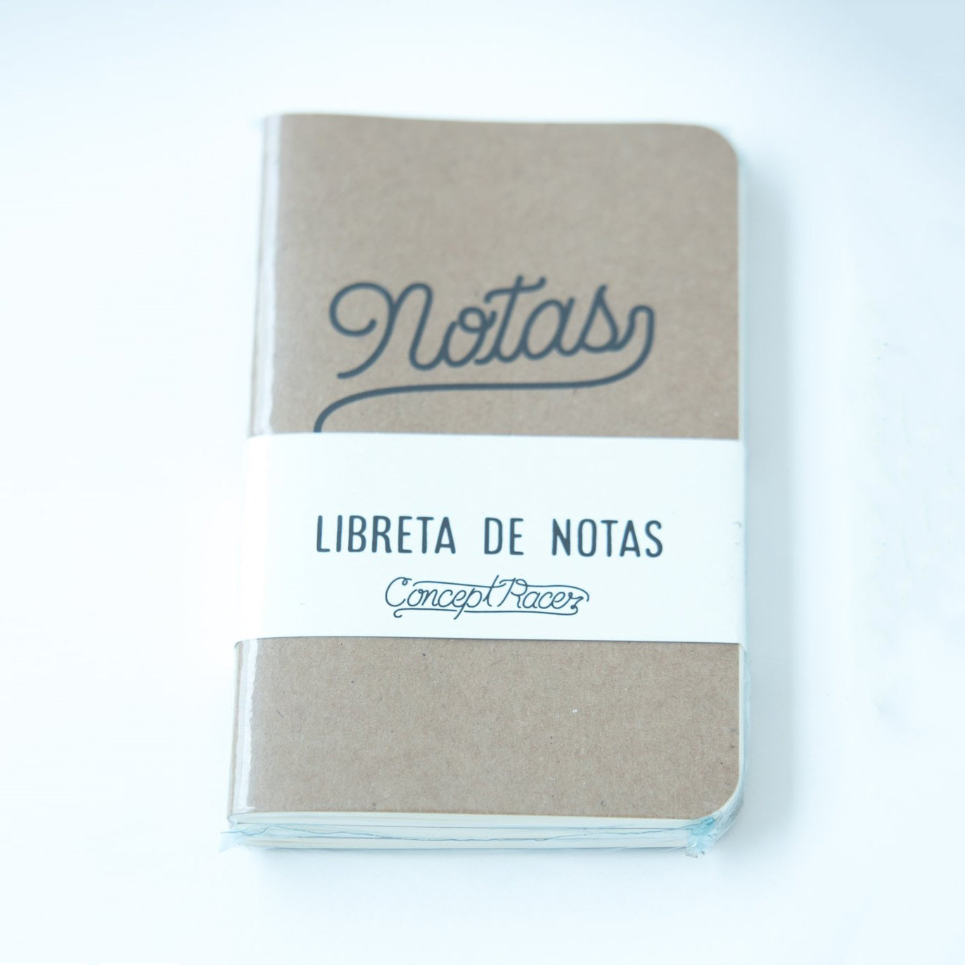 Libreta / Notebook 3 Pack - Concept Racer