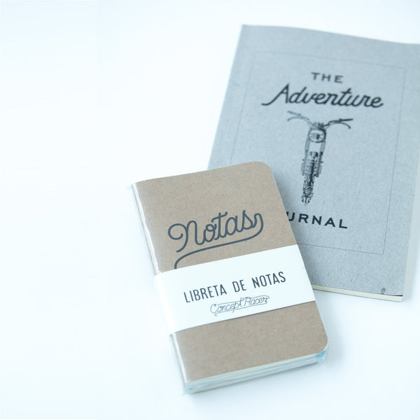 Libreta / Notebook 3 Pack