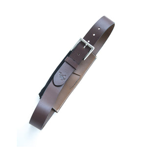 Cinturon de piel para moto / Leather Motorcycle Belt