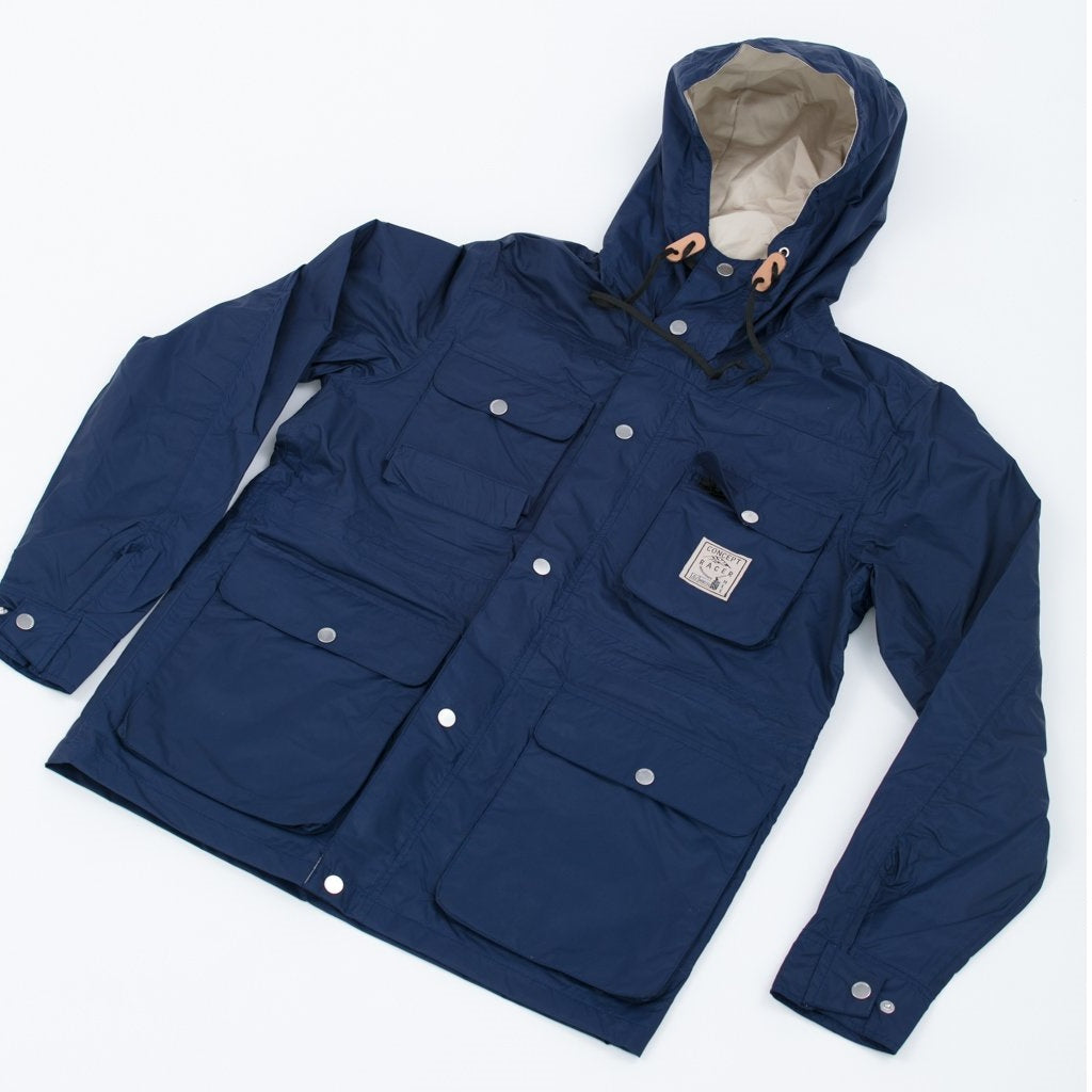 Waterproof-Breathable Jacket Navy 4 pockets - Concept Racer