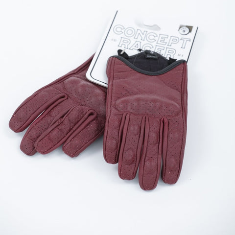 Burgundy Summer Gloves
