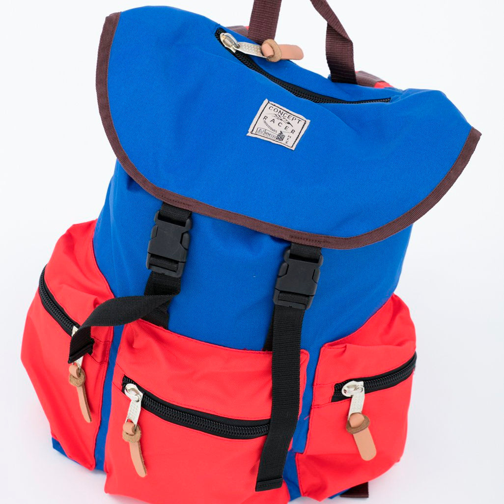 Backpack Red/Blue - Concept Racer