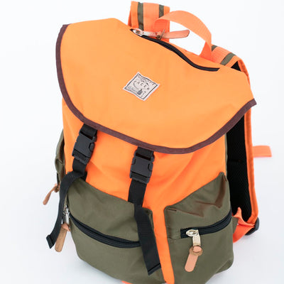 Backpack Orange/Green - Concept Racer