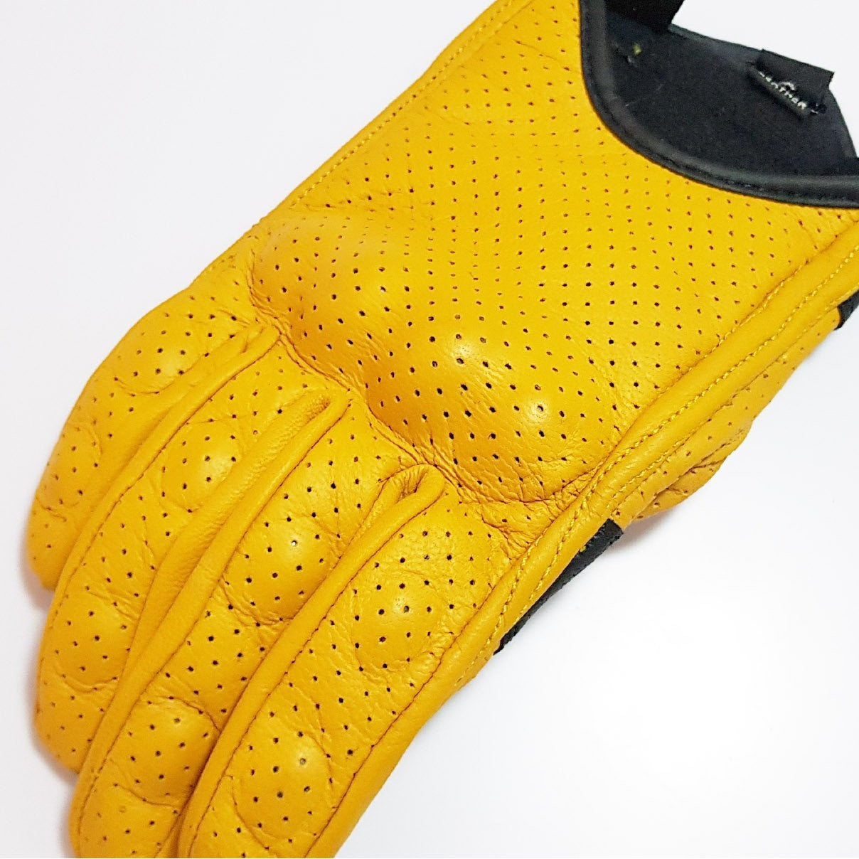Yellow Summer Gloves - Concept Racer