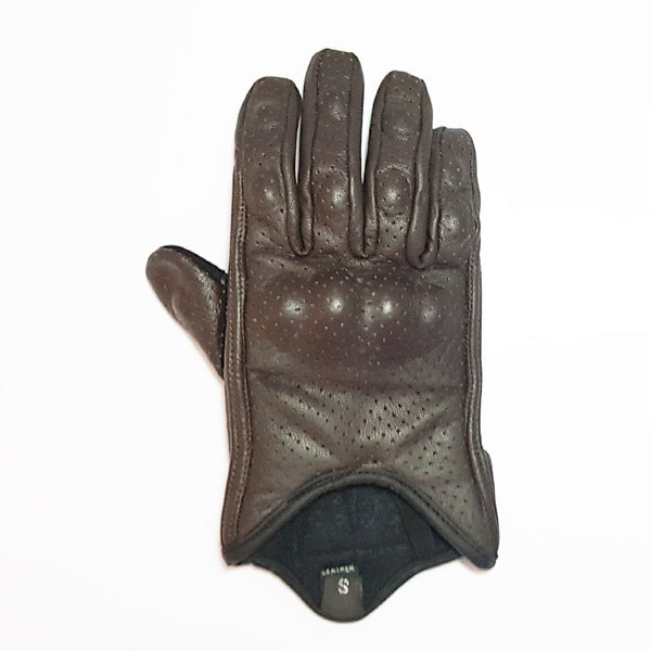Brown Summer Gloves - Concept Racer