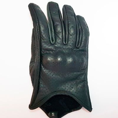 Black Summer Gloves - Concept Racer