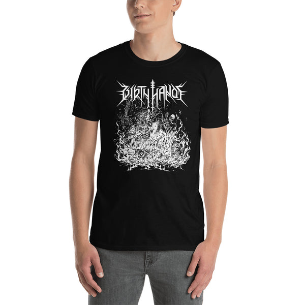 """Chopper Necromancy"" Short sleeve T-Shirt"