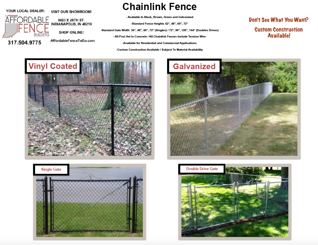 Chainlink Fence – Affordable Fence To Go