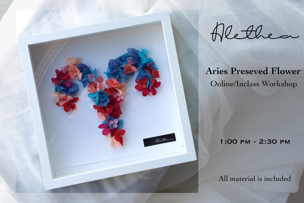 Alethea Aries Preserved Flower Workshop