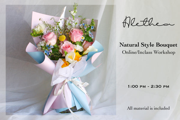 Alethea Natural Style Bouquet Workshop