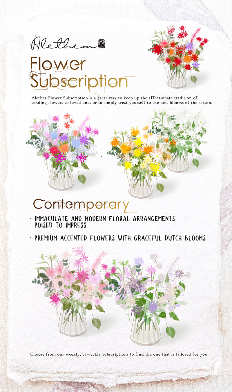 Alethea Flower Subscription Trial