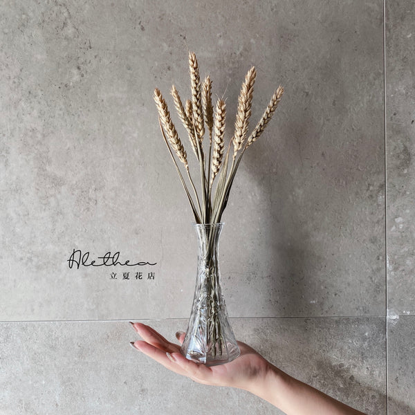 Dried Wheat Jar - Dried Flower