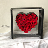Heart of Angel Rose Box - Preserved Flower