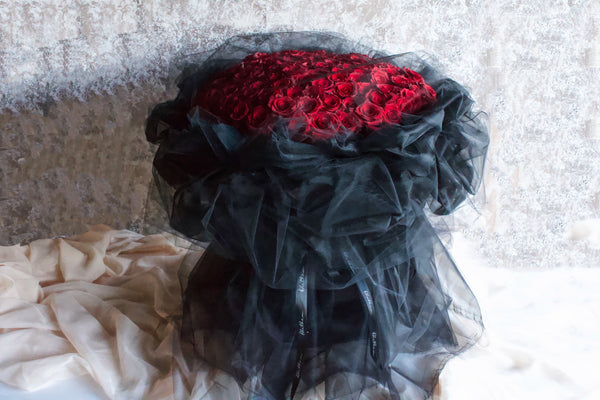 Alethea Loving Chiffon Bouquet - Valentine's Day 2021