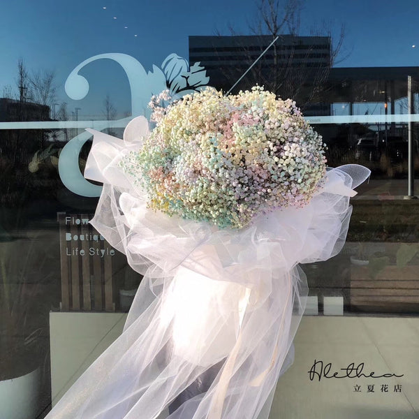 Alethea Baby's Breath Bouquet - Valentine's Day 2021