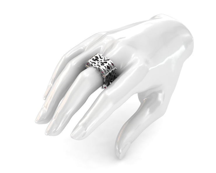 LUZ Anger | Women's ring in sterling silver - Luz By Houman