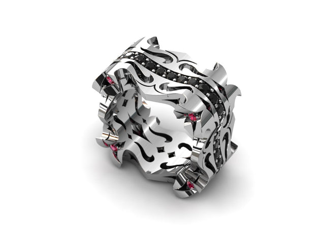 LUZ Breakup | Women's ring in sterling silver - Luz By Houman