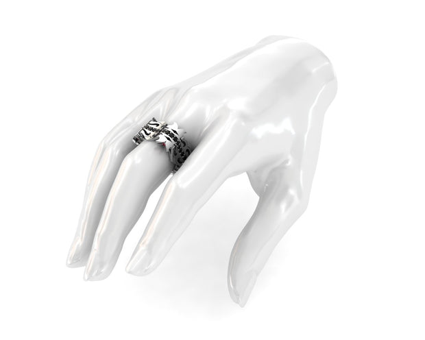LUZ Breakup | Men's ring in sterling silver - Luz By Houman