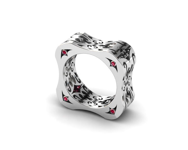LUZ Flirt | Men's ring in sterling silver - Luz By Houman