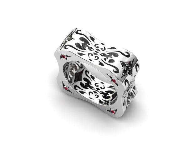 LUZ Flirt | Women's ring in sterling silver - Luz By Houman