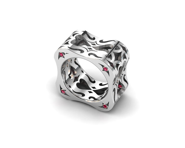 LUZ Love | Women's ring in sterling silver - Luz By Houman