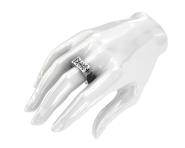 LUZ Lust | Men's ring in sterling silver - Luz By Houman