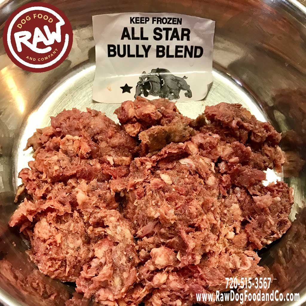All Star Bully Blend (Chicken and Beef Blend with Tripe)
