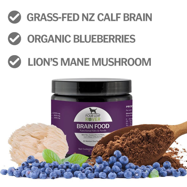 Brain Food - For Dogs Only