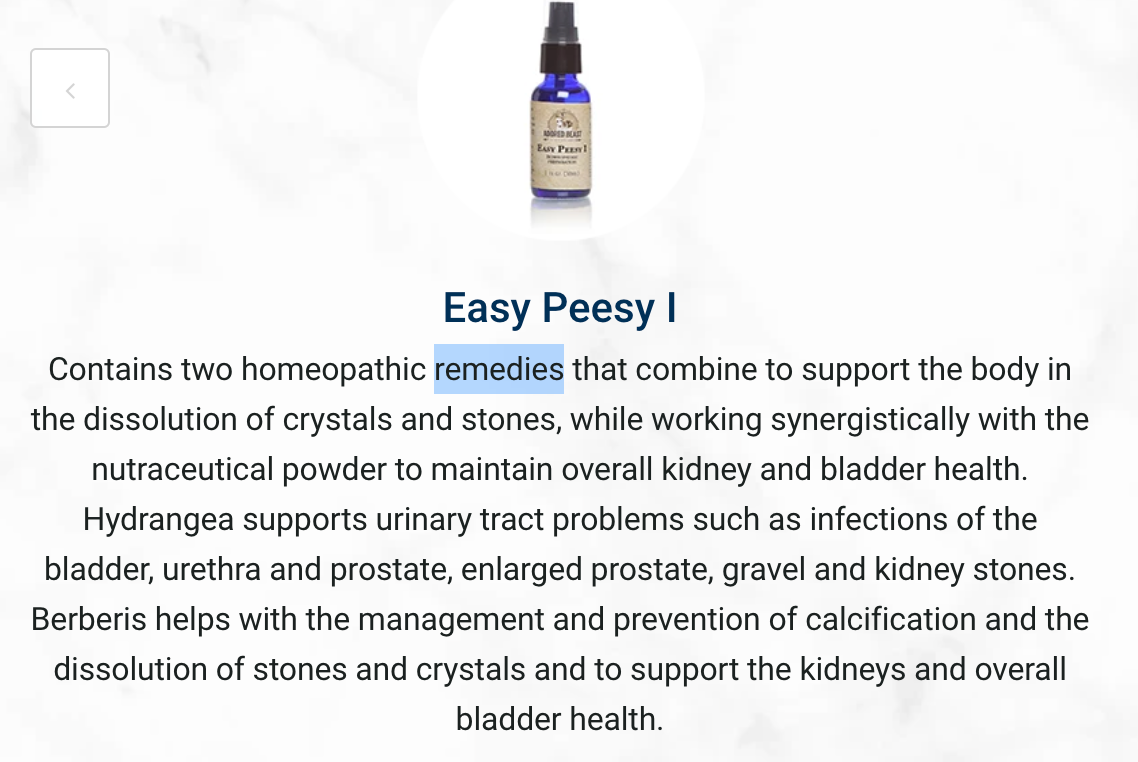 Easy Peesy Protocol - Urinary Tract Health